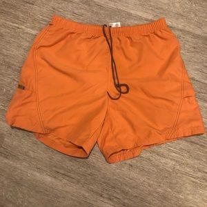 "Columbia women's shorts inseam 6"" orange"